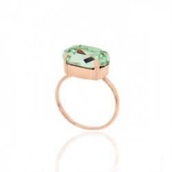 Pink Gold Ring Celine oval big