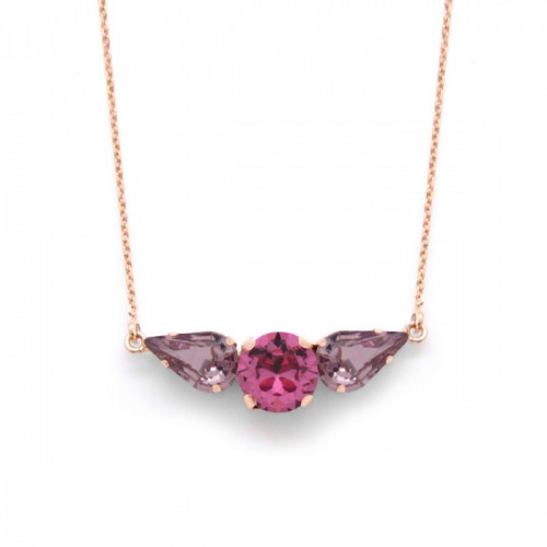 Pink Gold Necklace Celine VC