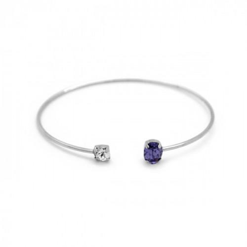 Silver Cuff Bracelet Celine