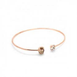 Pink Gold Cuff Bracelet Celine