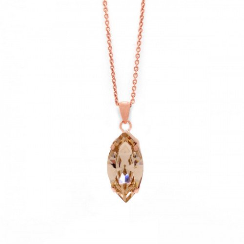 Pink Gold Necklace Celine marquise