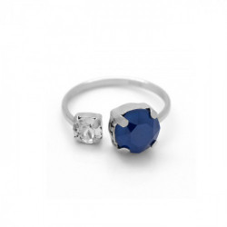 Silver Ring Celine You and I