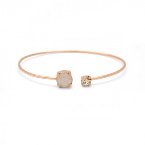 Pink Gold Cuff bracelet Celine Basic
