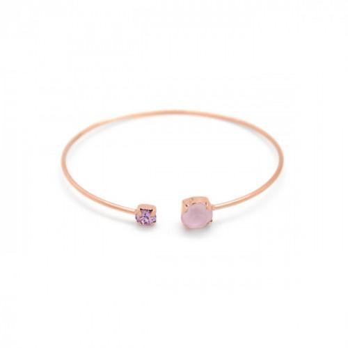 Pulsera de caña Celine Basic oro rosa