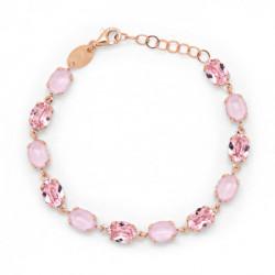 Pulsera oval light rose de Celine en oro rosa