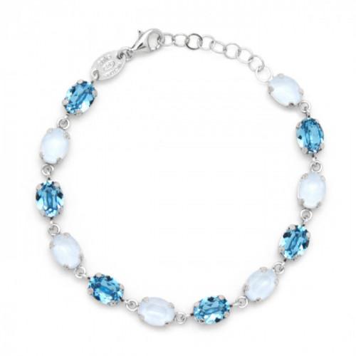 Silver Bracelet Celine oval