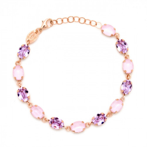 Pulsera Celine ovales oro rosa