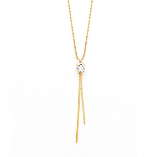 Gold Necklace Minimal