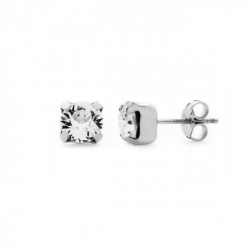 Silver Earrings Celine Basic