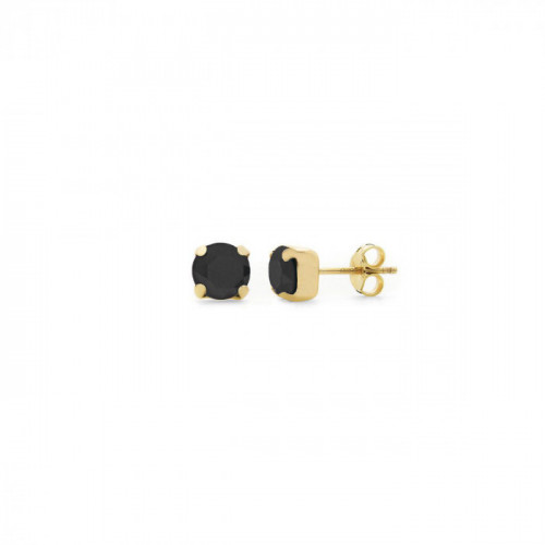 Gold Earrings Celine Basic Jet