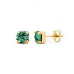 Gold Earrings Celine Basic