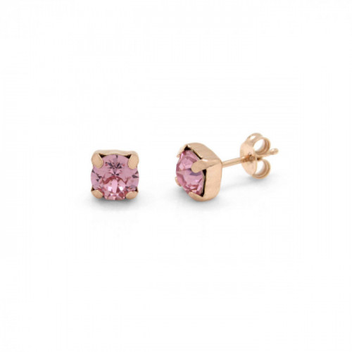 Pink Gold Earrings Celine Basic