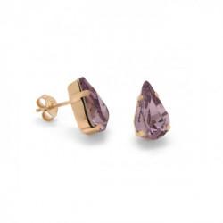 Pink Gold Earrings Celine Drop