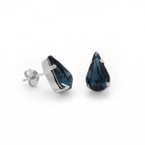 Silver Earrings Celine Drop