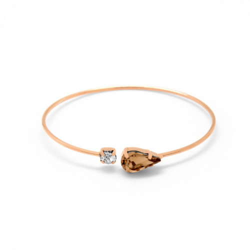 Pink Gold Bracelet Celine Drop