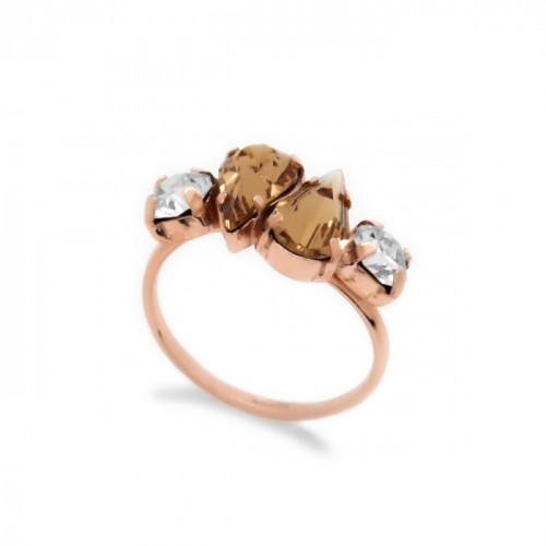 Pink Gold Ring Celine Beatriz