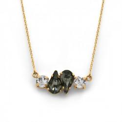 Collar lágrimas diamond de Celine Beatriz en oro