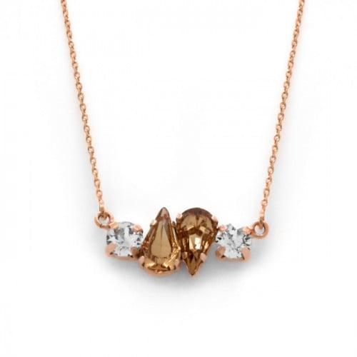 Collar Celine Beatriz oro rosa