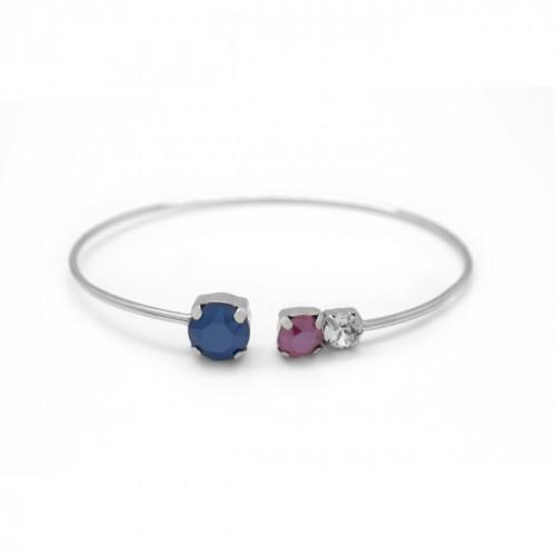 Silver Bracelet Celine circles