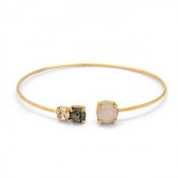 Gold Bracelet Celine circles