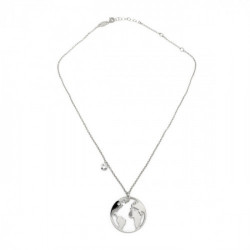 Silver Necklace world