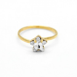 Gold Ring Celine Star