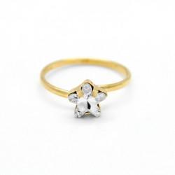 Anillo estrella crystal de Celine Star en oro