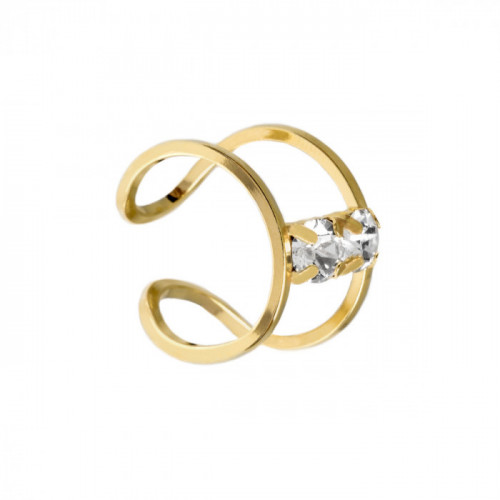 Gold Ring Selene