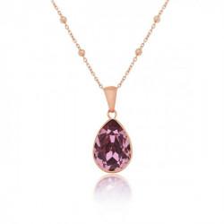 Colgante Essential M oro rosa