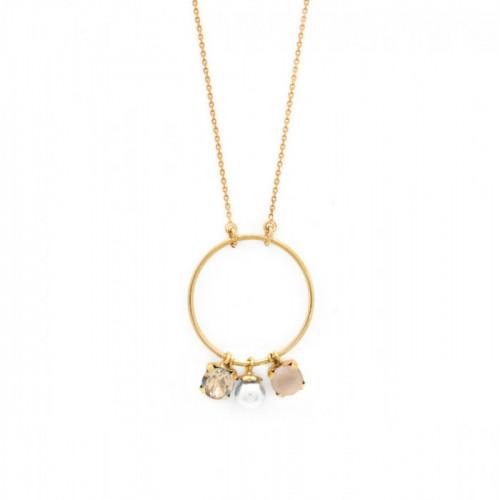 Collar Aura largo oro