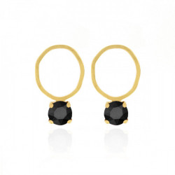 Gold Earrings Aura