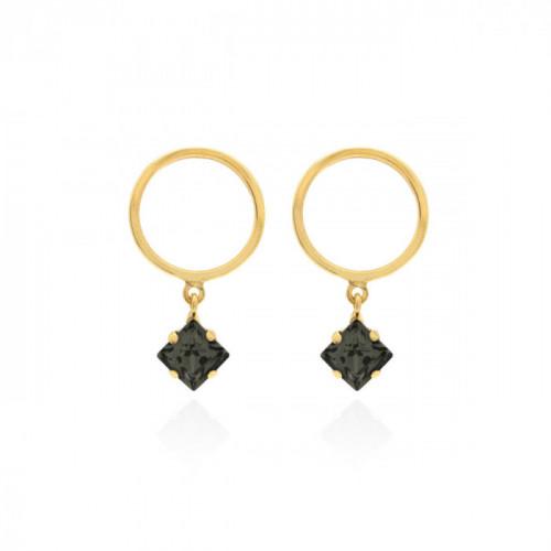 Gold Earrings Hoop mini