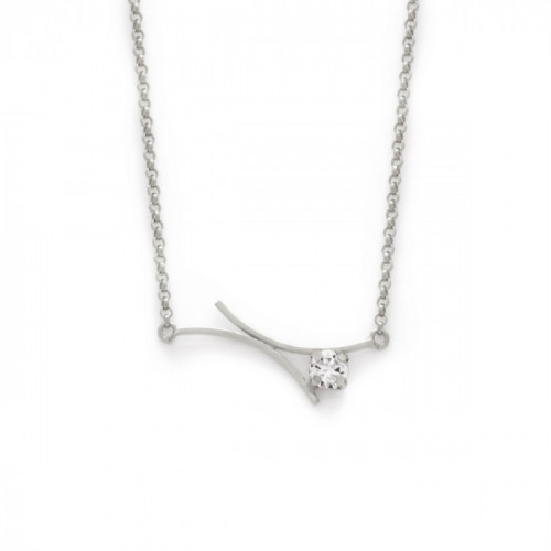 Silver Necklace Minimal