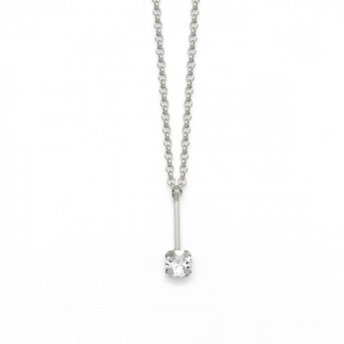 Silver Necklace Minimal