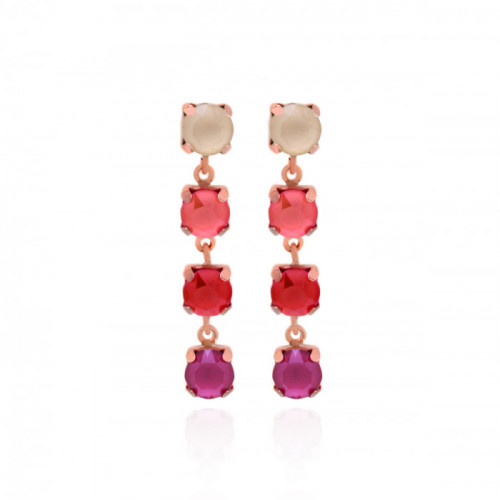 Pink Gold Earrings Agatti