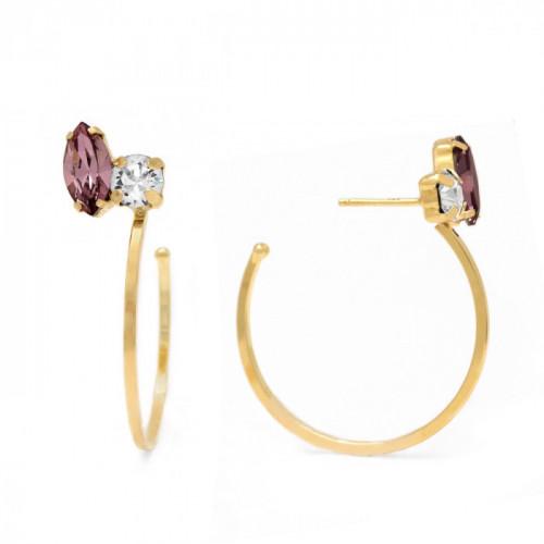 Gold Earrings Hoop