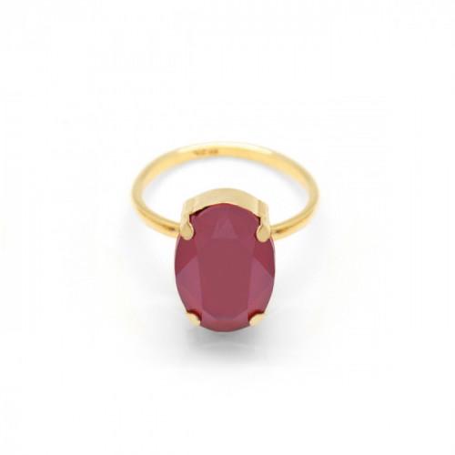 Gold Ring Celine oval big