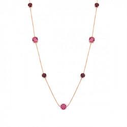 Pink Gold Necklace Transparent long