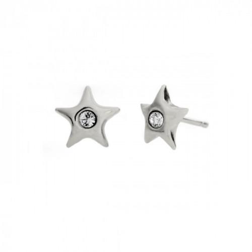 Silver Earrings Teen star