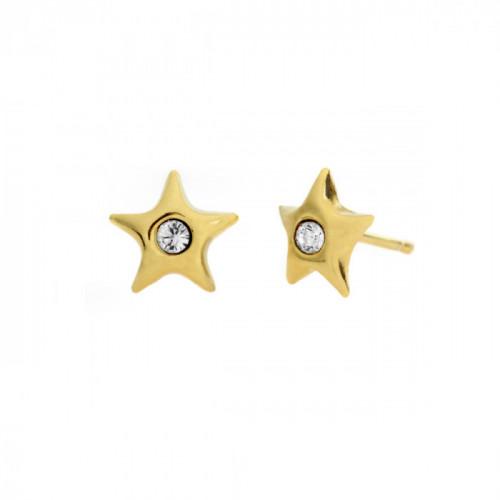 Gold Earrings Teen star