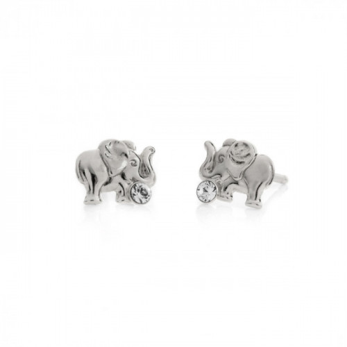 Silver Earrings Teen elephant