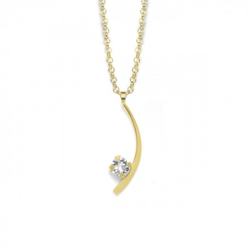 Gold Necklace Selene