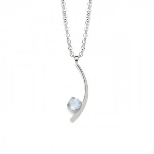 Silver Necklace Selene
