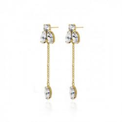 Gold Earrings Britt