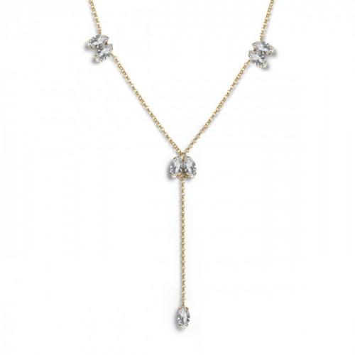 Gold Necklace Britt long