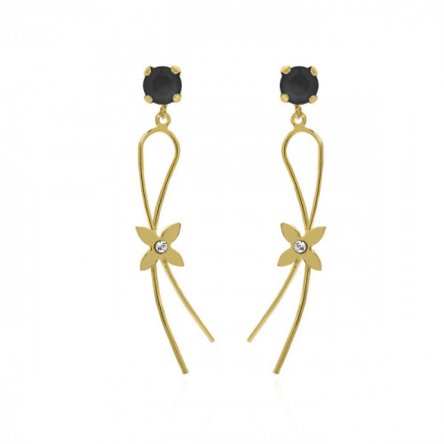 Gold Earrings Vega Jet