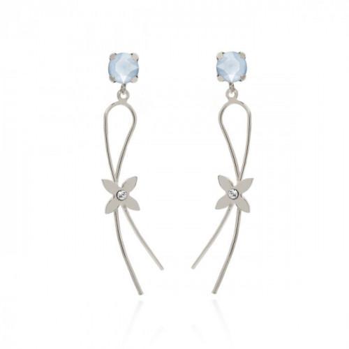Silver Earrings Vega