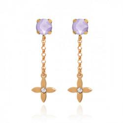 Pink Gold Earrings s Vega