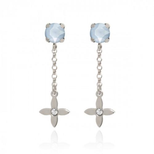 Silver Earrings s Vega