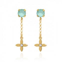 Gold Earrings s Vega